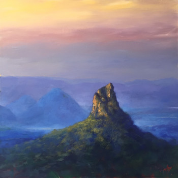 First Light, Glasshouse Mtns 750_930 $3800