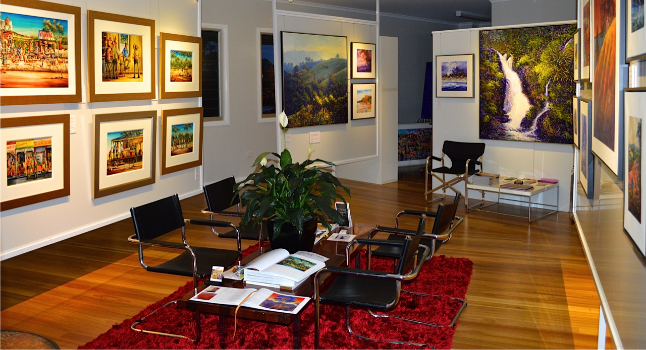 Maleny Gallery interior